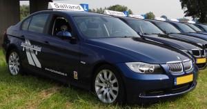Rijschool Salland rijdt met de BMW 3Serie